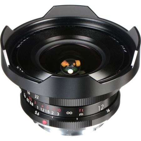 Voigtlander Heliar 12mm f/5.6 III, montura VM, negru