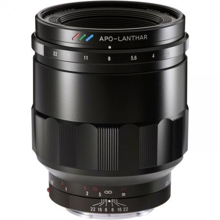 Voigtlander Macro Apo-Lanthar 65mm f2 - Montura Sony FE, Negru