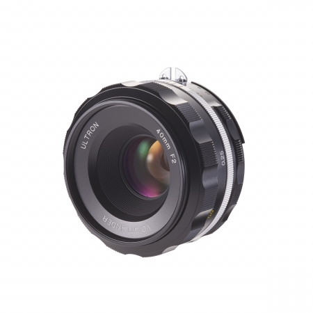 Voigtlander - Nokton Nikon AI-S 40mm f2.0 SLII, negru
