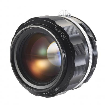 Voigtlander Nokton SLII-S 58mm F/1.4 - Nikon Ai-S, negru