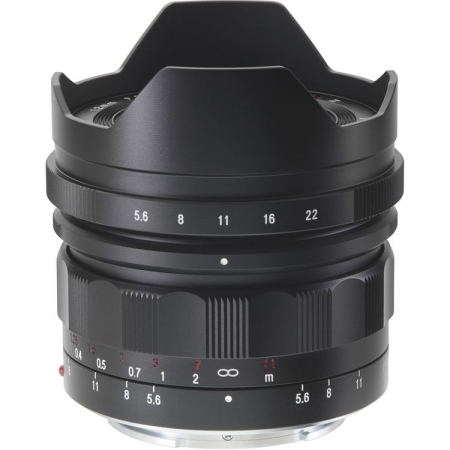 Voigtlander Ultra Wide-Heliar 12mm f/5.6 Aspherical III, montura Sony FE, negru