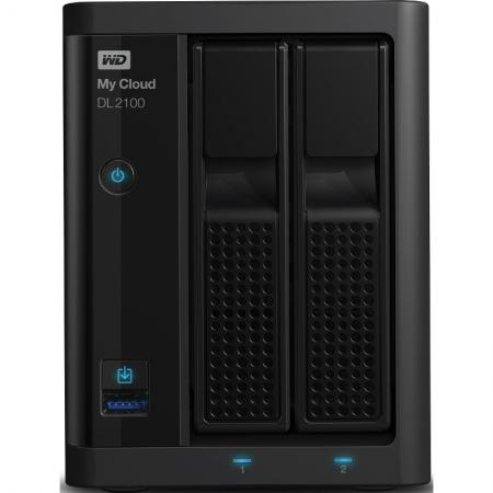 WD My Cloud DL2100 8TB Raid - Network Attached Storage