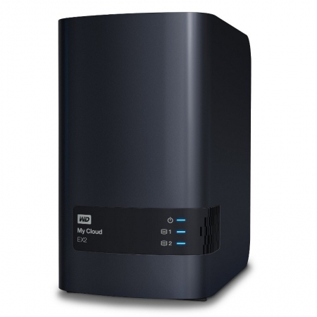 WD My Cloud EX2 10TB, RAID, Network Attached Storage HDD extern USB 3.0