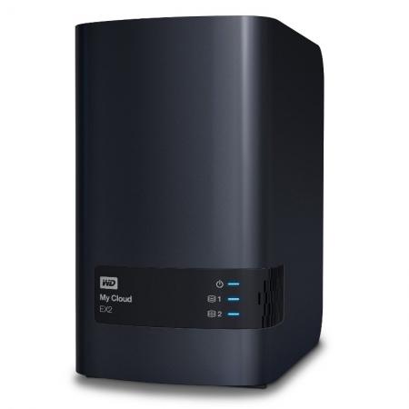 WD My Cloud EX2 6TB, RAID, Network Attached Storage HDD extern USB 3.0
