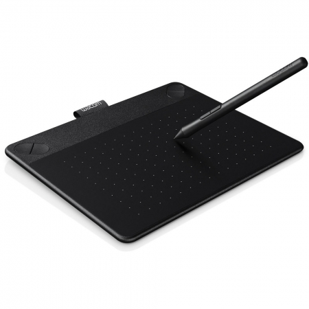 Wacom Intuos Comic CTH-490 Pen & Touch S - tableta grafica - negru