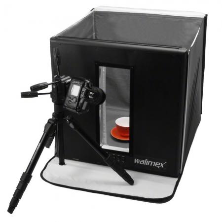 Walimex Ready-To-Go Light Cube - Cub foto 96W, 60x60cm