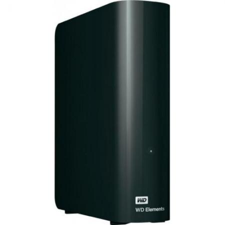 Western Digital Elements Desktop - HDD extern 3.5'', 2TB, USB 3.0, negru
