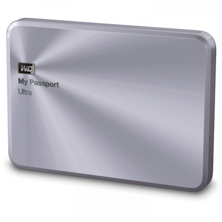 Western Digital My Passport Ultra Metal Edition - 1TB, USB 3.0, Argintiu