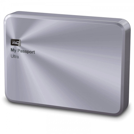 Western Digital My Passport Ultra Metal Edition - 3TB, USB 3.0, Argintiu