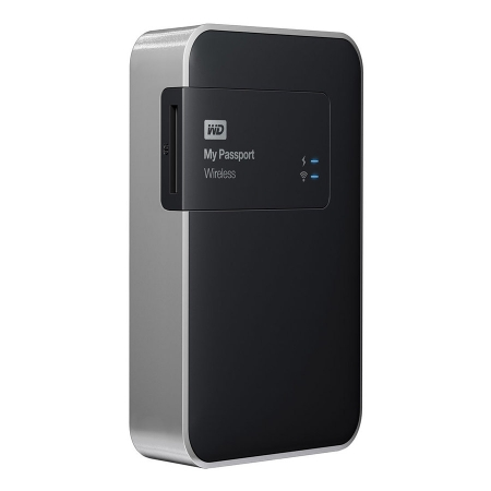 Western Digital My Passport Wireless 2TB - HDD extern cu Wi-Fi, slot SD si USB 3.0