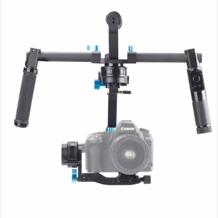 Wondlan Skywalker SK02 - Gimbal 3 axe cu doua manere + maner superior