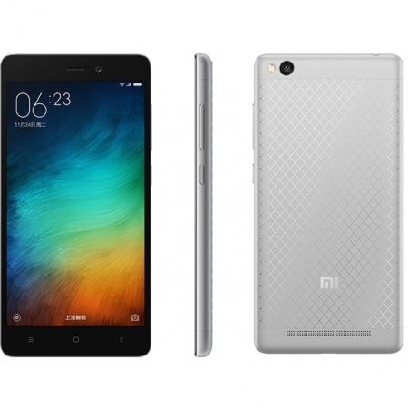 XIAOMI Redmi 3 Qualcomm Dual Sim 16GB LTE 4G Negru Argintiu RS125026071-1