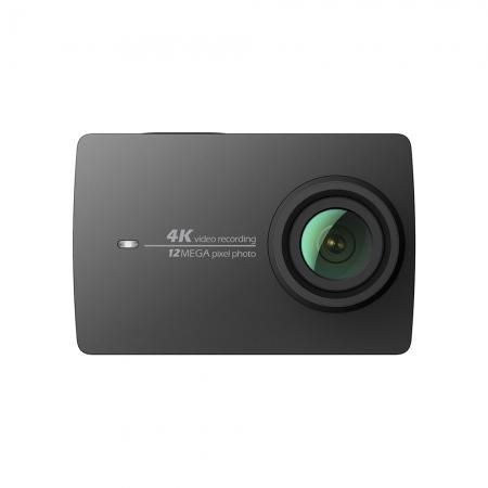 XIAOMI YI 2 Action 4K - Camera actiune, Negru