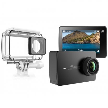 Xiaomi YI 4K - Camera de actiune + Husa Waterproof