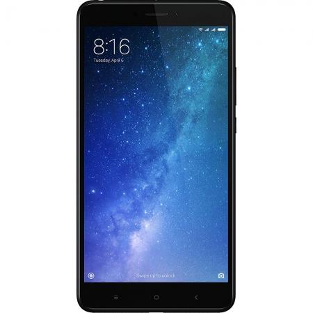 Xiaomi Mi Max 2 - 6.4'', Dual Sim, Octa-Core, 4GB RAM, 64GB, 4G - Negru