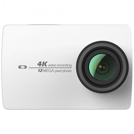 Xiaomi Y2 4K Action Camera - Camera + Husa waterproof, Alb