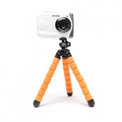 Xsories Bendy - minitrepied flexibil - portocaliu