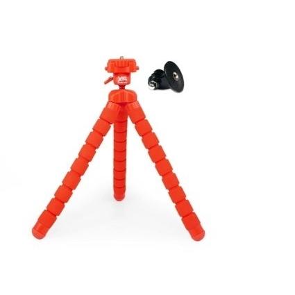 Xsories Big Bendy - minitrepied flexibil - rosu