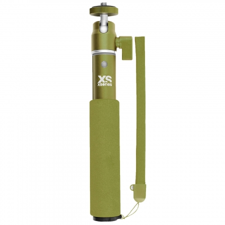 Xsories U-shot - Selfie stick extensibil, Forest Green