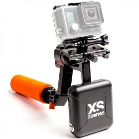Xsories XGEM X-STEADY ELECTRO - Gimbal pe o axa, Negru/Portocaliu