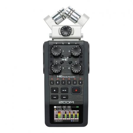 ZOOM H6 Handy Recorder [ XYH-6 & MSH-6 ] RS125007185-2