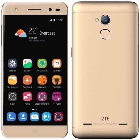 ZTE Blade V7 Lite - 5'', Dual SIM, Quad Core, 8GB, 1GB RAM, 4G - Auriu