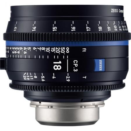 Zeiss CP.3 18mm T2.9 - Montura Canon EF
