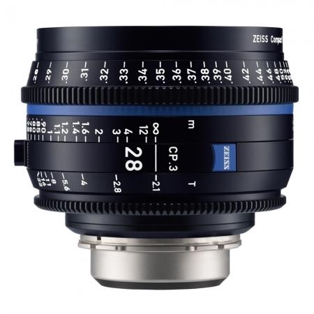 Zeiss CP.3 28mm T2.1 - montura Canon EF