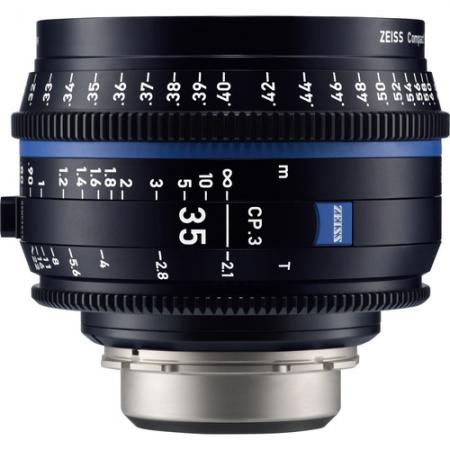 Zeiss CP.3 35mm T2.1 - Montura Canon EF