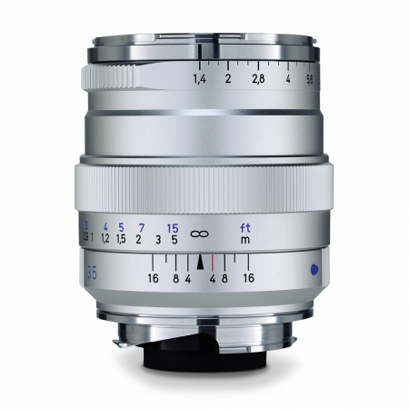 Zeiss Distagon T* 35mm f/1.4 ZM argintiu - montura Leica M