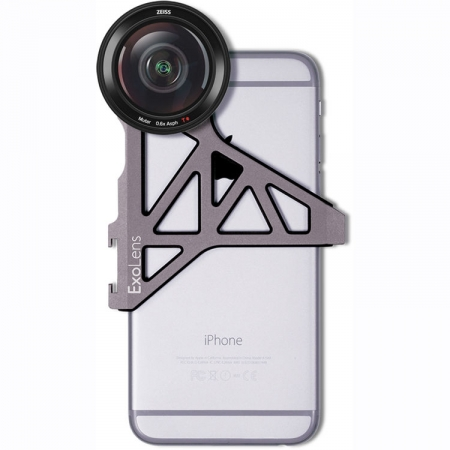 Zeiss ExoLens Kit obiectiv wide 0.6x + Bracket pentru iPhone 6Plus/6s Plus