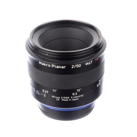 Zeiss Milvus 50mm f/2.0 Makro ZE - Canon - SH7577-2