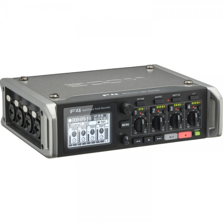 Zoom F4 - Recorder audio profesional, 6 canale