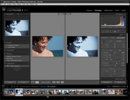Adobe Lightroom 3 - Software editare foto - Windows