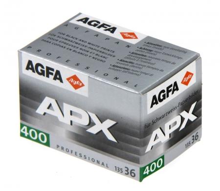 Agfa APX 400 - film negativ alb-negru ingust (ISO 400, 135-36)