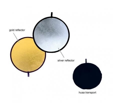 Fancier blenda 2in1, Silver/Gold, 30cm