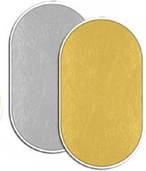 Fancier blenda 2in1, Gold/Silver, 60x90cm