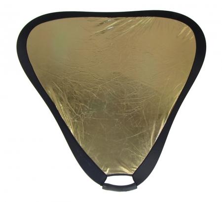 Fancier blenda cu maner Gold/corectie WB, 80cm