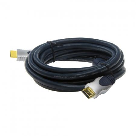 Cablu HDMI cu mufa  mare+mare 3m