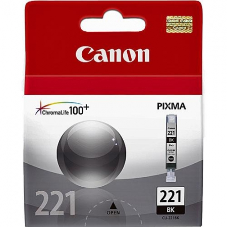 Canon CLI-521BK Negru - Cartus foto pentru imprimanta Canon PIXMA iP4600/iP4700/MP560