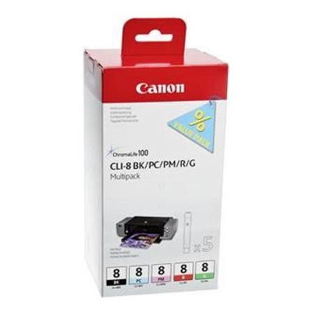 Canon CLI-8  BK/PC/PM/R/G  - pentru Pixma Pro 9000