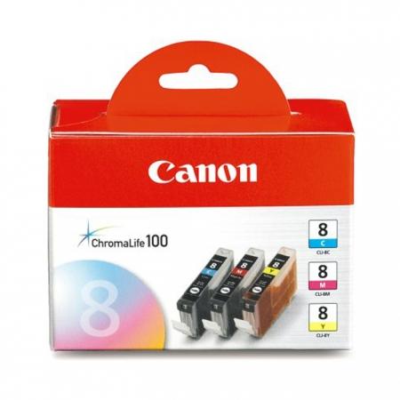 Canon CLI-8 Cyan/Magenta/Yellow - set cartuse pentru Pixma Pro 9000
