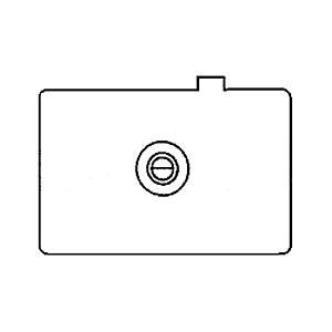 Canon EC-B - ecran de focalizare - Canon 1D, 1Ds