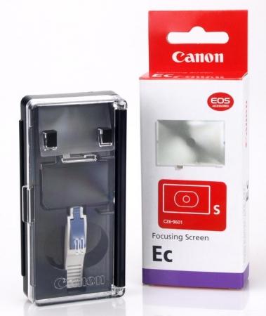 Canon EC-S - ecran de focalizare - Canon 1D, 1Ds