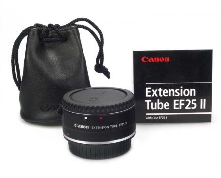 Canon  EF 25 II - tub extensie / macro (25mm) pentru obiective EF si EF-S