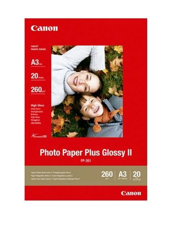 Canon Hartie Foto Plus Glossy II A3 20coli 260gr (CANPP201A3)