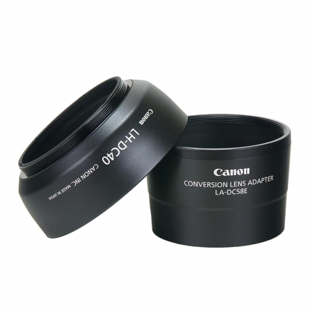 Canon LAH-DC20 cu parasolar pentru Canon S2 IS,  Canon S3 IS, Canon S5IS