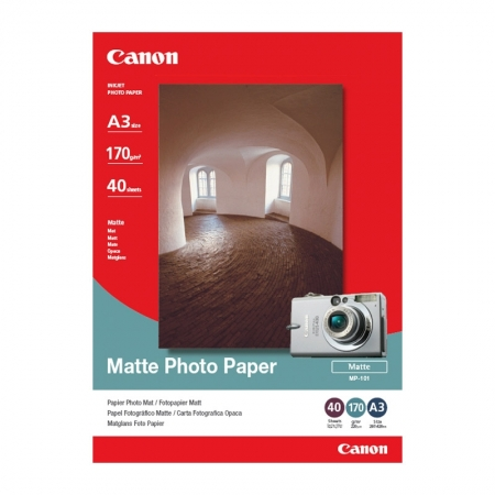 Canon Matte Photo Paper A3 40 coli 170g/mp (CANMP101A3)