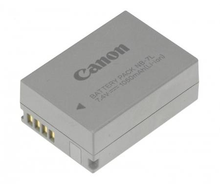 Canon NB-7L - acumulator original pentru PowerShot G10/G11/G12/SX30 (7.4v, 1050mAh)