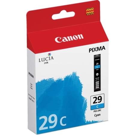 Canon PGI-29C Cyan - cartus imprimanta Canon Pixma PRO-1